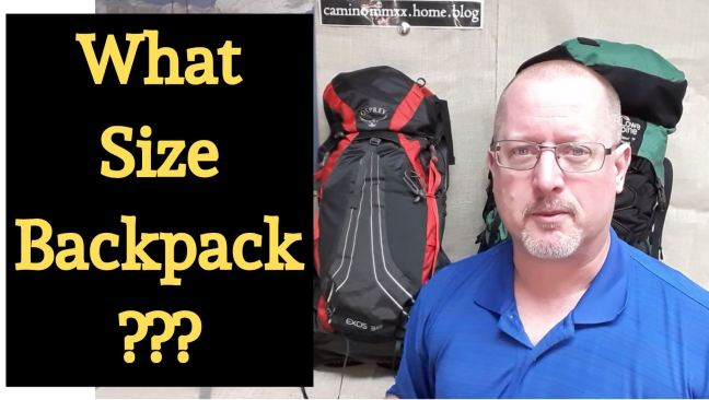 Backpack Sizes