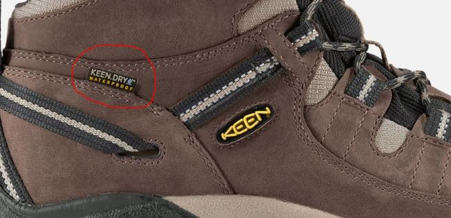 Keen Waterproof Tag
